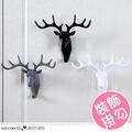 創意牆面個性鹿頭無痕掛鉤 裝飾 掛件【2Y124P773】