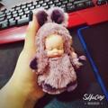 哇哦好康誒(๑′ᴗ‵๑)毛絨玩具女生可愛睡萌娃娃鑰匙扣掛件睡眠娃娃ins少女心網紅玩偶