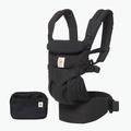 美國 ERGOBABY Omni全階段型四式360嬰兒揹帶|背巾|揹巾 黑~總代理公司貨【麗兒采家】