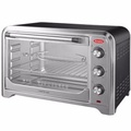 EUROPACE 45L ELECTRIC OVEN WITH ROTISSERIE EEO 2451S(Silver)