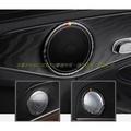 GLC220 GLC250 C180 C200 C250 C300 W205真碳纖維車門音響飾圈改裝BENZ