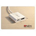 全新公司貨 LINDY 43196 - 主動式 USB3.1 TYPE-C TO HDMI1.4 4K/30HZ 轉接器