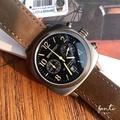 Briston 🇫🇷 法國 軍事風 皮革 消光 復古 潮錶 尼龍 二眼計時 錶 手錶