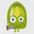 kiddidoo比利時童趣造型硬殼ABS後背包_青蛙