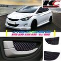 真碳纖維Hyundai現代貼改裝 碳纖維手把 卡夢拉門Elantra ix35 i30 Santa Fe Tucson