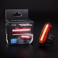 Bike Bicycle Lamp 100 LM Rechargeable LED USB COB Mountain Bike Tail Light Taillight MTB Safety Warning Bicycle Rear Light 2018