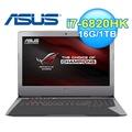 ASUS 華碩 G752VS-0051 17.3吋 電競筆電