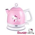 Hello Kitty 歌林 1.0L時尚可愛不鏽鋼快煮壺-經典版(雙重防乾燒)
