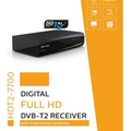 Draco HDT2-7700 + ANT-900 (DVB-T2) Digital TV Receiver with USB Recording