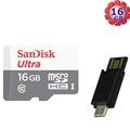 【附T07 OTG 讀卡機】SanDisk 16GB 16G microSDHC【80MB/s】Ultra microSD micro SD SDHC UHS UHS-I Class 10 C10  原廠包裝 記憶卡 手機記憶卡