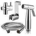 Bidet Sprayer - Premium Stainless Steel Bathroom Toilet Hand Held Handheld Portable Bidet Spray Sprayer Gun And Hose