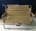 露營戶外 情人椅 雙人椅 雙人折疊椅 折疊椅牛津布/多色