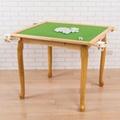 好運到實木造型腳麻將桌
