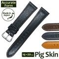 鐘表皮帶Accurate Form ACCURATE形式Pig skin猪皮皮革皮帶 chronoworld