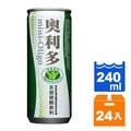 金車 奧利多 寡糖碳酸飲料 240ml (24罐入)/箱