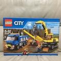 樂高 LEGO 60075 CITY 系列 挖土機和卡車