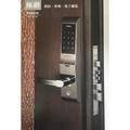 『寰岳五金』FIBRE琺博 極致 電子鎖 FB82-02 指紋/密碼/遙控/機械鑰匙 智慧型 防盜門鎖