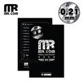 【贈9H玻璃背貼】Mr.com iPhone X 軍規防爆3D立體滿版康寧玻璃保護貼0.21mm