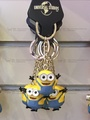 Spot Cai with the same section of Singapore Universal Studios purchase Souvenirs hand-mail small yellow key chain ornaments