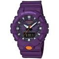 CASIO卡西歐 G-SHOCK 運動輕時尚手錶-紫 GA-800SC-6ADR