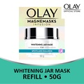 Olay Magnemasks Infusion Refill Whitening Jar Mask For Spots And Dullness 50g