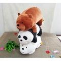 現貨 代購 MINISO 名創優品 16寸站姿 大大 胖達 阿極 白熊 毛絨公仔 玩具 娃娃 熊熊遇見你