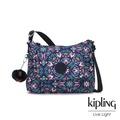 Kipling 熱帶萬花筒印花掀蓋側背包-ELEANOR