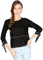 Elbow Sleeve Casual Top
