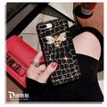 Luxurious 3D glitter rhinestone Square Patterned Case For Oppo R11S Plus luxurious Lattice Cases For Oppo R11S Plus - intl