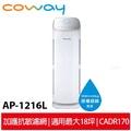 蝦幣回饋 Coway 綠淨力立式空氣清淨機 AP-1216L 送三年份活性碳濾網(共12片)