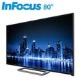 InFocus 80吋4K智慧連網液晶顯示器 WT-80CA600(送標準安裝)