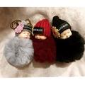 睡萌娃娃鑰匙扣、包包吊飾、婚禮小物 / 絨毛球系列