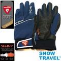[SNOW TRAVEL] 軍用primaloft-gold+特戰SKI-DRI防水保暖合身型手套AR-67/藍色/L 號/日韓限量版