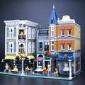 【12 Dec !特價中】樂拼積木街景系列城市集會廣場10255成人高難度拼裝模型玩具15019M101