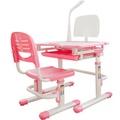 WSH日式快樂兒童升降學習桌椅(BOSS版全動可調)(附贈LED觸控檯燈) 兒童遊戲桌/課桌椅/書桌/兒童傢俱