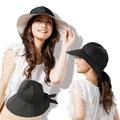 【日本Sunfamily】3用寬帽緣抗UV防風小顏帽