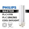 Philips Master PL-C 18W/865 - 4P - 6 Pieces Free 4 Pieces (Cool Daylight)