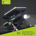 Meilan X2 Bicycle/scooter/DYU Phone Holder + Mobile Phone Charger + LED Headlight
