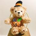 絕版 達菲 日本迪士尼 萬聖節限定版 南瓜 南瓜達菲 萬聖帽 達菲熊 保證正版