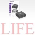 公司貨 登昌恆 HS114 4K2K HDMI 1分2 1對2 2-Port 分配器