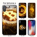 BITCOIN coins iphone 7 X XS XR 手機殼