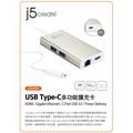 豐原好康→凱捷 TypeC轉RJ45+U3*2+HDMI JUA374 Bay order