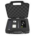 CASEMATIX Portable Travel Projector Carry Hard Case w/ Dense Foam - Fits RIF6 CUBE , UO Smart Beam L