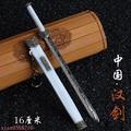 龍泉劍 如意劍 八面漢劍 如意漢劍17cm 帶鞘武器模型 合金兵器