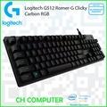 Logitech G512 Romer-G Clicky Carbon RGB Mechanical Gaming Keyboard