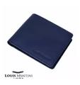 Louis Montini | กระเป๋าสตางค์หนังแท้สำหรับผู้ชายทรงสั้น แบบพับ Men's Genuine cow leather wallet