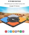 R-TV BOX S10 PLUS TV Box with Wireless Charging Rockchip 3328 Android 7.1 4GB RAM + 32GB ROM 2.4G WiFi 100Mbps USB3.0 Support 4K H.265 (Can Be Used To Charge IPhone X iPhone 8 / 8 Plus, Samsung Galaxy Note 8 / S8 / S9 / S9 Plus)