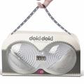 美國 Funzone◆Doki Doki月牙灣-胸部鍛鍊器-銀色◆經常按摩使胸部豐滿堅挺◆情趣線上