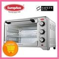EUROPACE 30L ELECTRIC OVEN WITH ROTISSERIE EEO2301T(Silver)