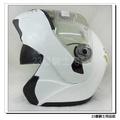 【GP5 722 全罩 安全帽 素色 白 可樂帽】雙層鏡片、免運費